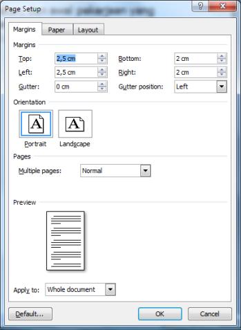 Page Setup2